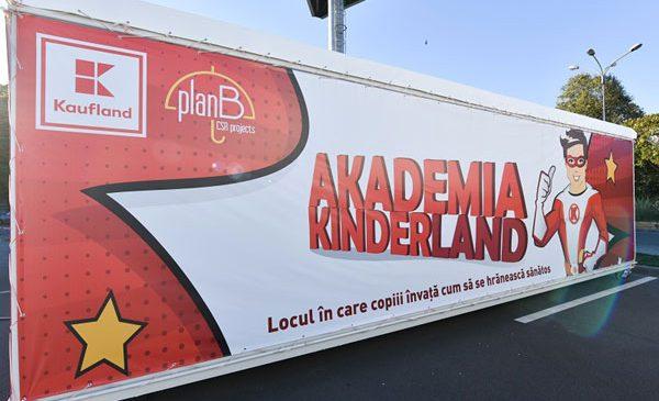 Kaufland a inaugurat o școală de nutriție pentru copii: AKADEMIA KINDERLAND