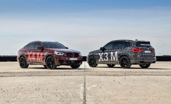 Debut sportiv pe Nürburgring – prima prezentare oficială pentru BMW X3 M şi BMW X4 M