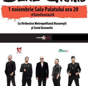 "Bere Gratis provoaca Romania in concertul aniversar ""Simfonia20"""