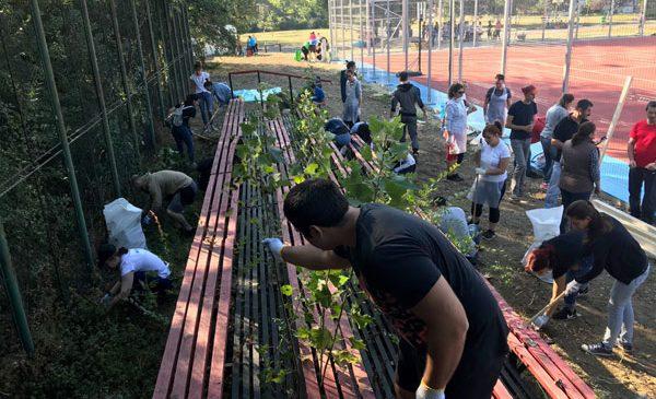Angajații companiilor membre ABSL au ajutat la amenajarea spațiului de joacă de la SOS Satele Copiilor din Capitală