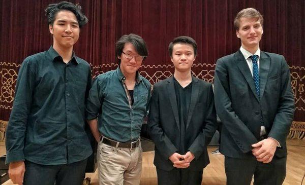 Premieră la Concursul Enescu 2018: patru tineri muzicieni intră în Finala Secțiunii de Violoncel – un francez, un japonez, un chinez și un estonian