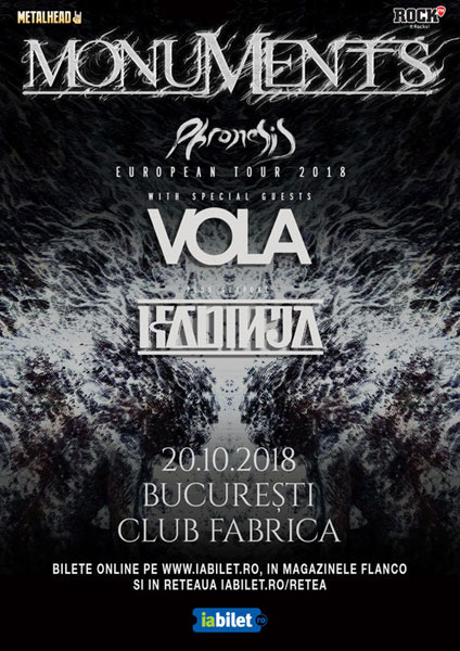 Concert Monuments si Vola 20.10.2018