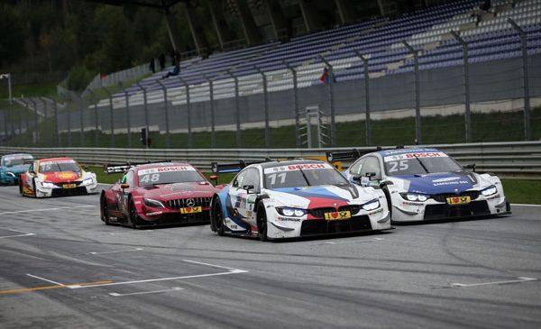 BMW a sărbătorit cursa 300 în DTM la Spielberg – În fiecare manşă, trei BMW M4 DTM s-au clasat în Top 10