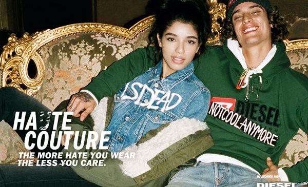 DIESEL ȋmpreună cu Nicki Minaj, Gucci Mane, Bella Thorne, Tommy Dorfman şi alţii prezintă HaɄte Couture The more hate you wear the less you care