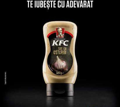 KFC România face o mișcare de business importantă pe piaţa locală: faimosul sos cu usturoi va fi disponibil în toate magazinele Lidl, începând de astăzi