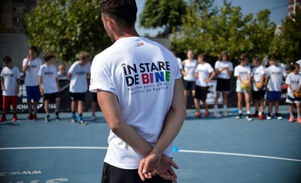 Din stradă, la Jocurile Olimpice: 150 de copii învață baschet 3×3, noua disciplină olimpică, de la cel mai titrat jucător al lumii, Dușan Bulut