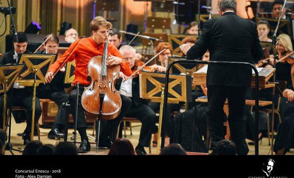 Estonianul Marcel Johannes Kits câștigă Concursul Enescu 2018 la Secțiunea Violoncel
