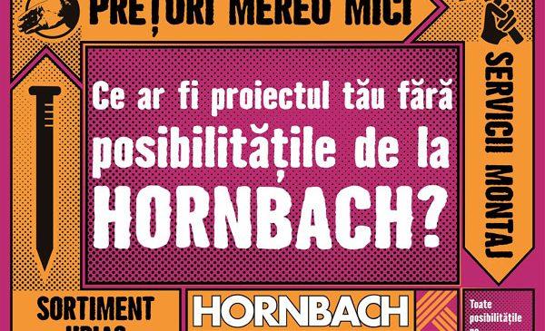 Noua campanie publicitară HORNBACH deschide o lume a posibilităților