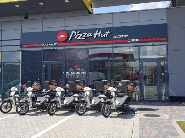 Pizza Hut Delivery, Brasov