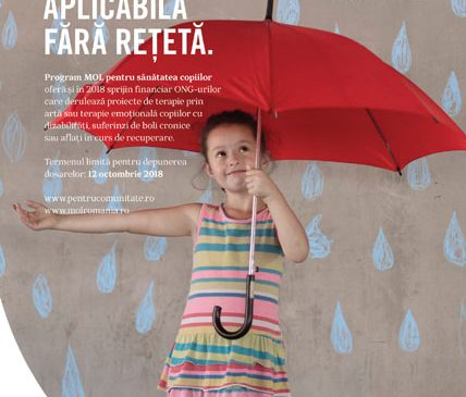 650 de copii cu nevoi speciale sunt beneficiarii celei de-a zecea ediții a Programului MOL pentru sănătatea copiilor