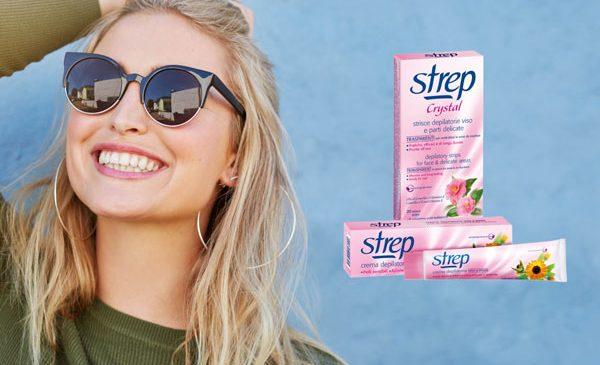 STREP îți face viața mai roz cu noua gamă, pentru o piele fină după epilare