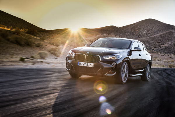 The new BMW X2 M35i