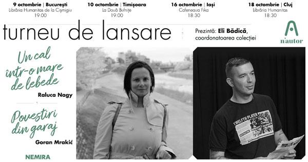 Raluca Nagy și Goran Mrakić merg la București, Timișoara, Iași și Cluj în turneu n'autor