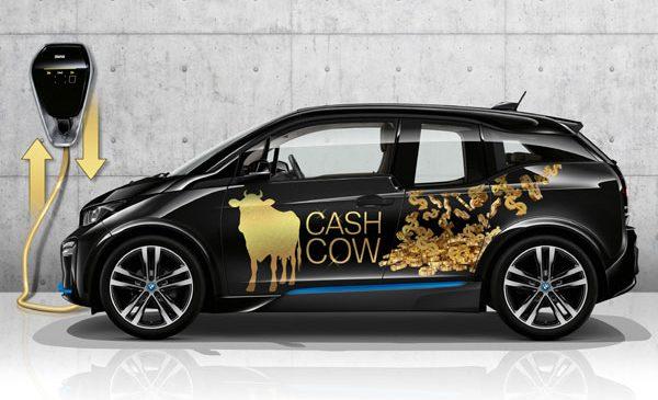 Automobilele BMW i3 pot contribui la stabilizarea reţelei electrice şi pot chiar să producă venituri pentru proprietari