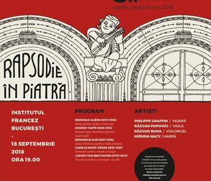 Rapsodie în piatră pentru patrimoniul cultural românesc