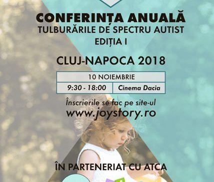 """Prima conferință """"Tulburări de spectru autist"""" are loc la Cluj Napoca"""