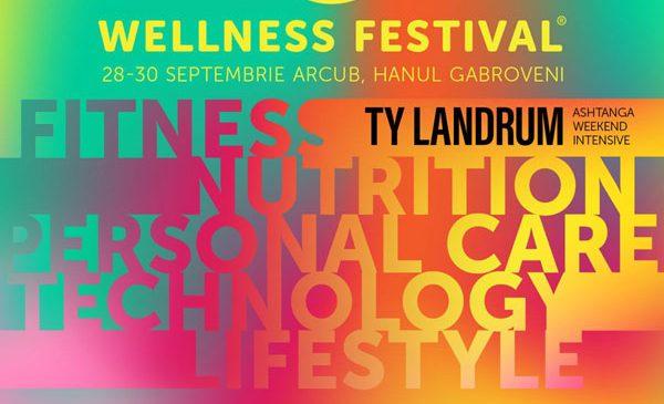 A doua ediție a celui mai interesant eveniment de wellbeing din România, Wellness Festival va avea loc pe 28, 29 și 30 septembrie la ARCUB, Hanul Gabroveni