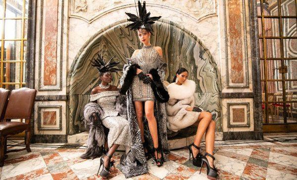 Catalin Botezatu a facut un show de zile mari la Paris Fashion Week