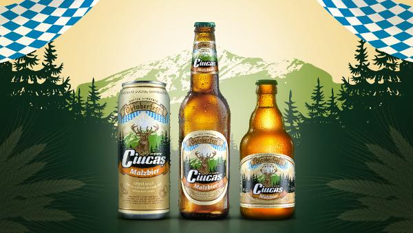 Brand New a creat ambalajul de sărbătoare al noului Ciucaș Malzbier