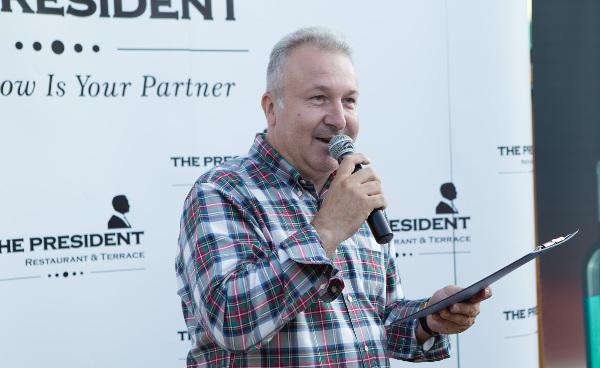 Corin Romanescu, CEO al Centrului de Evenimente The President