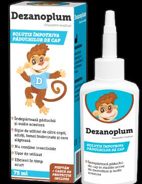 Elimină rapid problema păduchilor de cap cu Dezanoplum