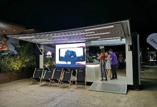 Huawei prezintă tehnologia viitorului în cadrul caravanei interactive Magic Box