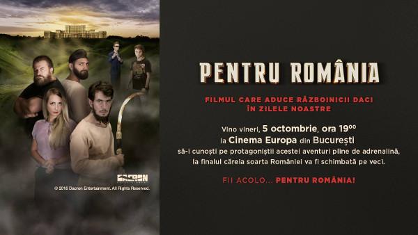 Pentru România – filmul care aduce războinicii daci în zilele noastre