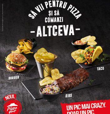 Varietate și gusturi noi: Pizza Hut România își întâmpină clienții cu un nou meniu în toate restaurantele din ţară