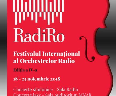 """Festivalul Internațional al Orchestrelor Radio """"RadiRo"""" – 2018: doar 24 de ore până se pun în vânzare abonamentele festivalului"""