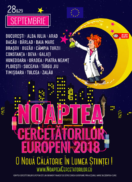 vizual Noaptea Cercetătorilor Europeni 2018
