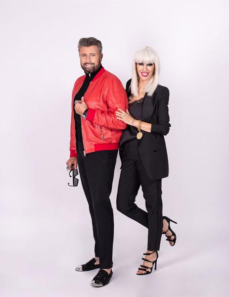 Catalin Botezatu si Raluca Badulescu