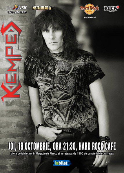Concert Kempes 18 octombrie