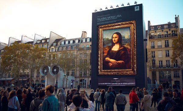 """""""Hey Mona Lisa…"""""""