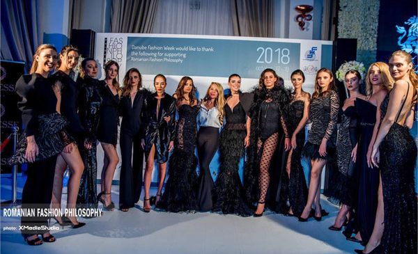 Black Angel Collection la Romanian Fashion Philosophy
