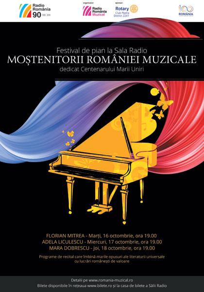 afis Mostenitorii Romaniei muzicale