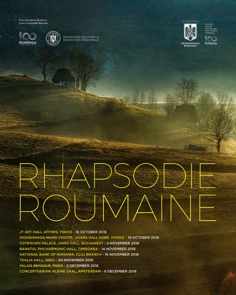 afis Rhapsodie Roumaine