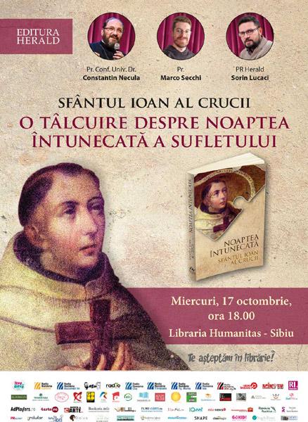 afis Sfantul Ioan al Crucii Sibiu