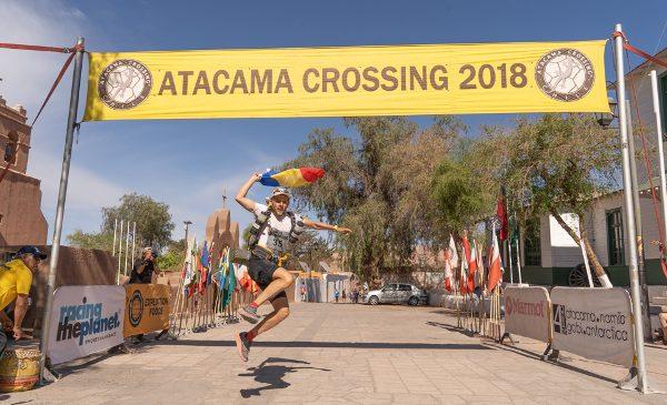 Andrei Gligor reușește o clasare în top 10 într-un ultramaraton în cel mai arid deșert din lume