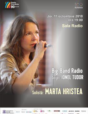 Aplaudat pe scena Cerbului de Aur 2018, Big Band-ul Radio își redeschide stagiunea de jazz la Sala Radio