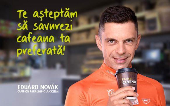 MOL lansează prima campanie de imagine pentru conceptul Fresh Corner, cu Eduárd Novák ca ambasador de brand