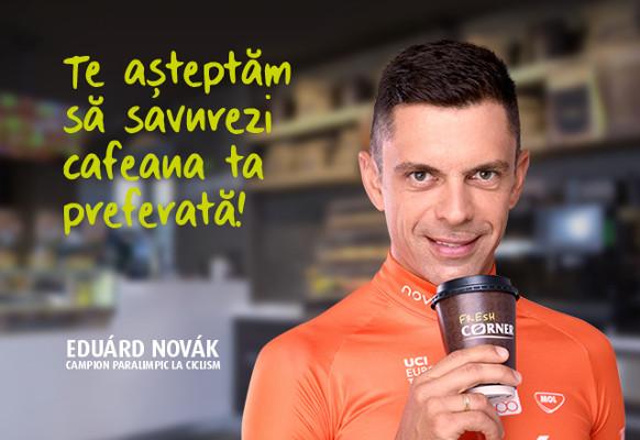 Mol campanie Fresh Corner cu Eduárd Novák ca ambasador de brand