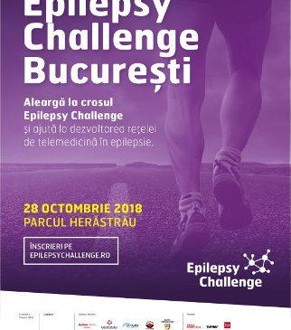 Cel mai mare cros de sprijinire a persoanelor cu epilepsie ajunge în București, pe 28 octombrie 2018, în Parcul Herăstrău