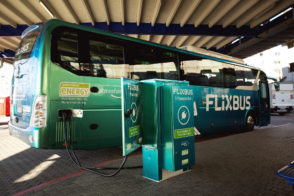 FlixBus Autocar 100% electric