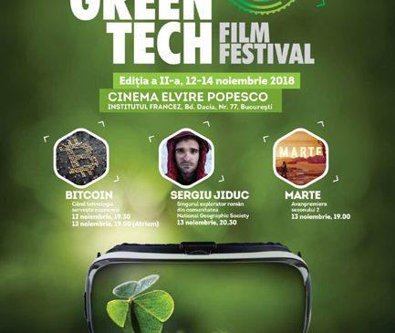 Invitaţi speciali şi cele mai noi documentare despre tehnologie la cea de-a doua ediţie GreenTech Film Festival