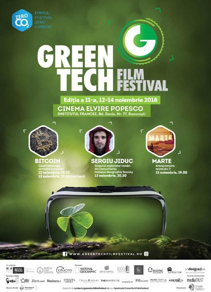 poster GreenTech Film Festival 2018
