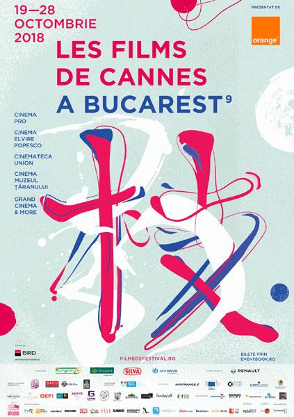 poster Les Films de Cannes a Bucarest 2018