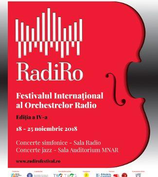"""Unicul festival din lume dedicat orchestrelor radio: """"RadiRo"""" 2018 începe pe 18 noiembrie"""