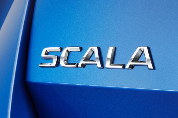 ŠKODA SCALA logo
