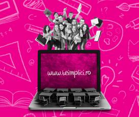 Telekom Romania anunță prelungirea perioadei de înscriere în cadrul concursului de proiecte Teimplici.ro, prin care susţine iniţiative de reducere a abandonului şcolar