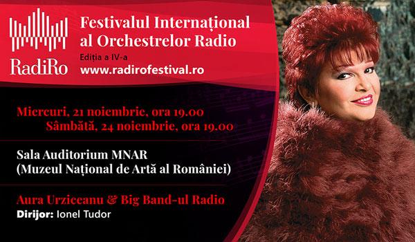 Aura Urziceanu și 3 formații de jazz europene vor evolua în RadiRo, unicul festival din lume dedicat orchestrelor radio